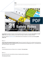 21 Golden Safety Rules