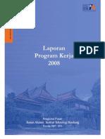 Laporan Program Kerja Ia-itb 2008