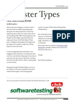 Tester Types