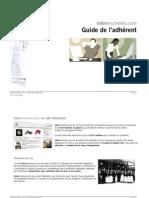 Guide de l'adhérent v1