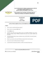 Trial PMR 2013 SBP Mathematics Paper 1