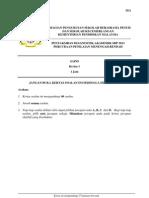 Trial PMR 2013 SBP Science Paper 1