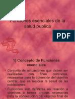 1.1 clase epi. funciones esenciales de la salud publica