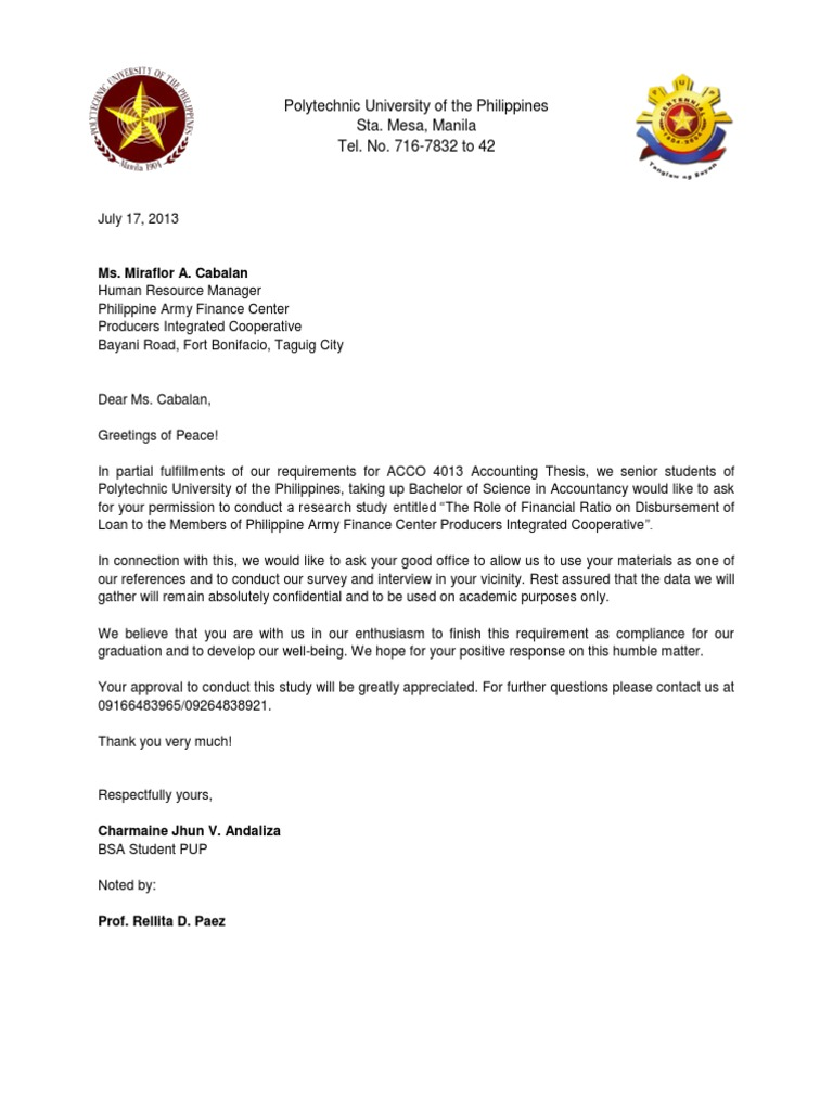 Request letter to conduct research business science general spiritdancerdesigns Images