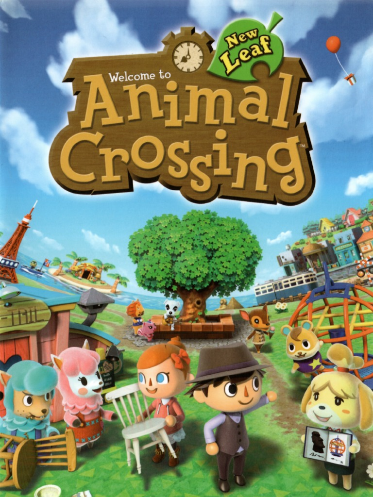 Animal Crossing New Leaf Prima Official Game Guide Fishing Rod Menu Computing