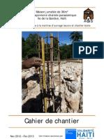 Cahier de Chantier Sl Phase 1 2