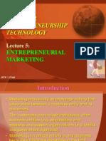 L5 - Entrepreneurial Marketing