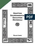 Peace Corps Adapting Environmental Education Materials | February 1999 | M0059