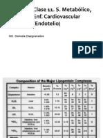 Clase 11. S. Metabólico, Enf Cardiovascular (Endotelio)