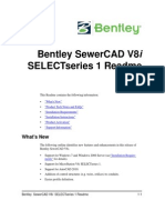 Readme Bentley SewerCAD V8i