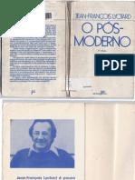 LYOTARDJ.F_O-pós-moderno