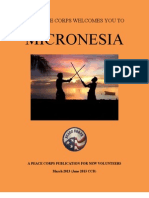 "Peace Corps Micronesia Welcome Book     March 2013 (June 2013 ""CCD"")  fmwb401"