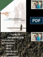 Salt industry- research paper presentation