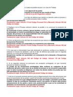 Cuestionario de Derecho Procesal Laboral Final