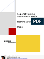 Optics course Catalogue 2004 R1