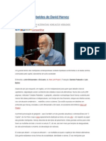 As Cidades Rebeldes de David Harvey