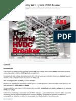 Enhance Grid Reliability With Hybrid HVDC Breaker