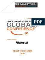 Speaker List Global Conference