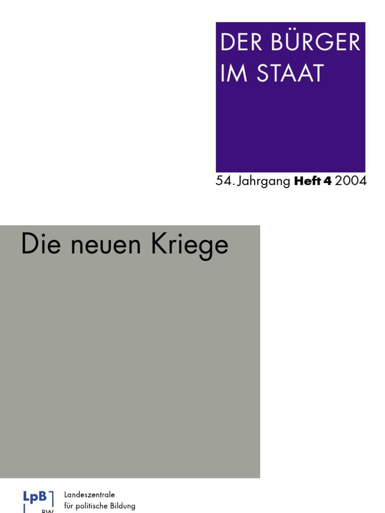 Über Mary Kaldors These des sozialen Wandels in den neuen Kriegen (German Edition)