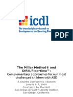DIR®Floortime Complementary approaches for the most challenged children with ASD