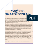 CUENTO. CLASIFICACION. 2° Y 3°