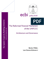 The Reformed Financial Mechanism of the UNFCCC Post Copenhagen - The Role of National Funds and Institutions (2009)