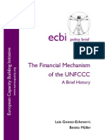 The Financial Mechanism of the UNFCCC