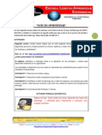 GUIA DE APRENDIZAJE ESCUELA DE LIDERAZGO MODULO Nº 1 SEMANA Nº 2
