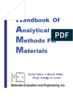 Handbook of Analytical Methods for Materials