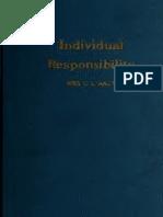 C.L. Baum - Individual Responsibility (1918)