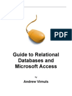 Guide to Relational Databases and Microsoft Access