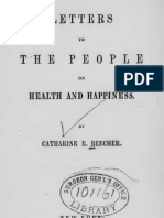 Catharine Esther Beecher - Letter to the People on Health and Happiness (1855)