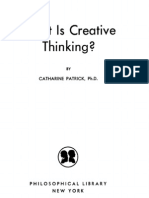 Catharine Patrick - What is Creative Thinking (1955)