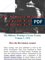 The Military Writings of Leon Trotsky Volume 1, 1918