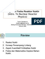 Fisika Reaktor Nuklir