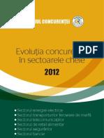 Raport Privind Starea Concurentei 2012