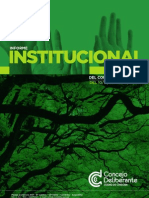 Informe Institucional Concejo Deliberante