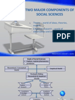 Major Components of Social Sciences