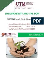 Sustainability SCM