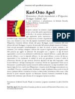 0. Karl-otto Apel