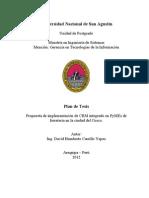 Modelo de implementación de CRM en PyMEs de ferreterías en la ciudad del Cusco