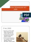 IT ACT 2000 Slides