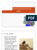 IT ACT 2000 Slides