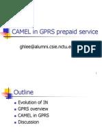CAMEL in GPRS Prepaid Service
