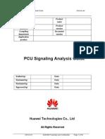 Huawei PCU Signaling Analysis Guide