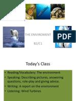 Ruben Unit 1 the Environment