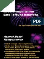 Model Kompartemen Satu