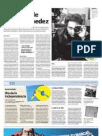 Entrevista a Percy Céspedez