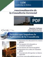 Internacionalizacion de La Consultoria - 2013