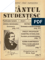 Cuvantul Studentesc Anul I Nr 2 1993